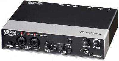 Steinberg UR242 USB Audio Interface W/ Cords And Power Supply • 100.14£