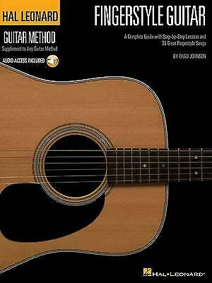 HLGM FINGERSTYLE GUITAR METHOD BKCD Hal Leonard Guitar Method Songbooks, Chad Jo • 12.52£