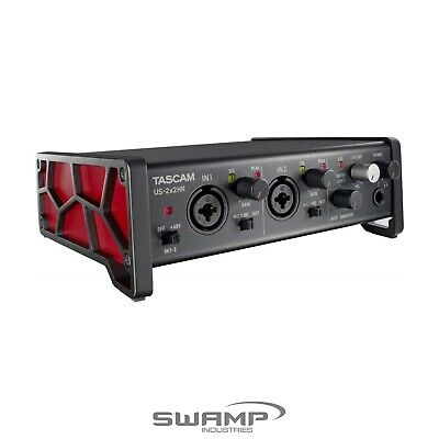 Tascam US-2x2HR 2-in/2-out USB Audio Interface With 2 Mic Preamp 24bit/192kHz • 167.72£