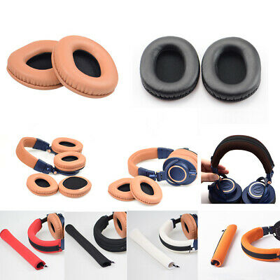 2 X Replacement Ear Pads Cushion For Audio-Technica ATH-M50X M30X M40X Headphone • 3.69£