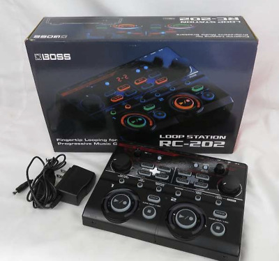 BOSS RC-202 Loop Station Table Top Model Used Excellent Japan Tested W/Box • 239.64£