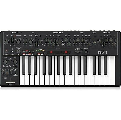 Behringer MS-1 Analogue Synthesizer - Black (NEW) • 450£