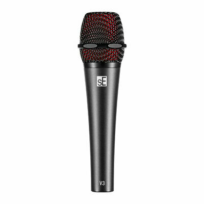 sE Electronics V3 Dynamic Cardioid Mic - All-Metal Housing, Gold Plated XLR, Spe