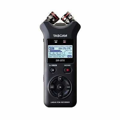 Tascam DR-07X Stereo Handheld Digital Audio Recorder And USB Audio Interface • 108.35£