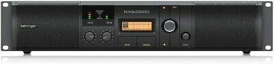 Behringer NX6000D Class D Power Amplifiers With DSP Control • 562.99£