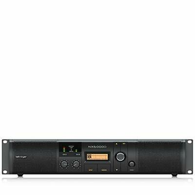 Behringer NX6000D Class D Power Amplifiers With DSP Control • 504.50£