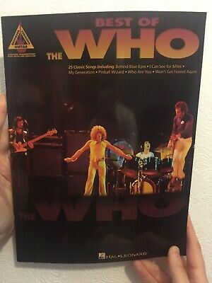 The Who - Best Of - Recorded Versions Guitar - Hal Leonard - 168 pages Tab