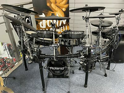 Roland TD-50 Professional Digital Drum Kit with Additional Cymbals & Pads - Used