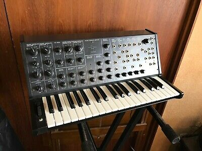Korg MS-20 vintage analog monosynths w/ patch cables