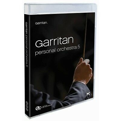 Garritan Personal Orchestra 5 Virtual Instrument Collection GPO5 *NEW* Download • 103.55£