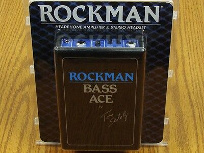 NEW Rockman Tom Scholz Bass Ace Headphone Amplifier & Stereo Headset Effects • 75.25£