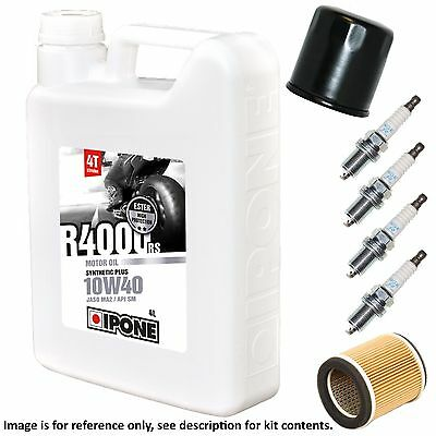Yamaha YZF 750 SP (4HS5/4HS6) 1995 Ipone R4000 Full Service Kit Oil/Air/Plugs • 64.99£