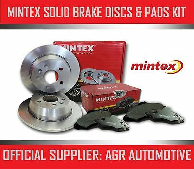 MINTEX FRONT DISCS AND PADS 215mm FOR SUZUKI ALTO 0.8 (SB308) 1986-96 • 47.58£