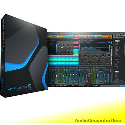 PreSonus STUDIO ONE 5 PROFESSIONAL UPGRADE FROM PRO 1-4 Software DAW NEW • 85.81£
