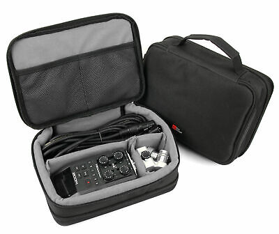 Storage Case With Grey Adjustable Inserts Zoom H4N Pro / H5 / H6 Audio Recorder • 18.99£