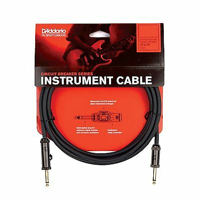 Planet Waves PW-AG-30 30ft Circuit Breaker Guitar Instrument Cable Lead • 36.75£