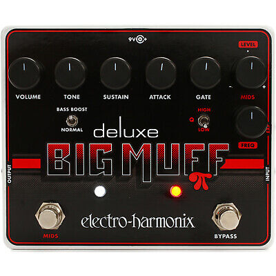 Electro-Harmonix Deluxe Big Muff Pi Fuzz / Distortion / Sustainer Effects Pedal