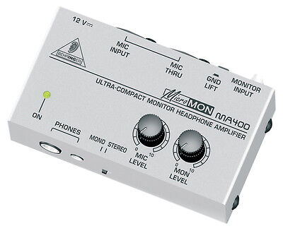 BEHRINGER Micromon MA400 - Ultra-Compact Monitor Headphone Amp - FREE POST *NEW* • 35.12£