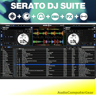 Serato DJ SUITE Professional Digital DJing Audio Software EDelivery NEW • 212.24£
