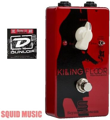 Seymour Duncan Killing Floor High Gain Boost Pedal ( 1 DUNLOP STRING SET )  • 116.30£