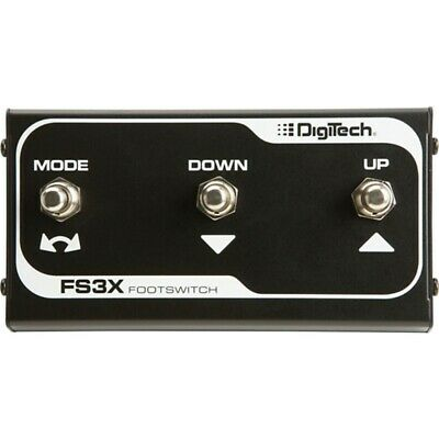 DigiTech FS3X Compact 3-Button Footswitch Pedal • 38.90£