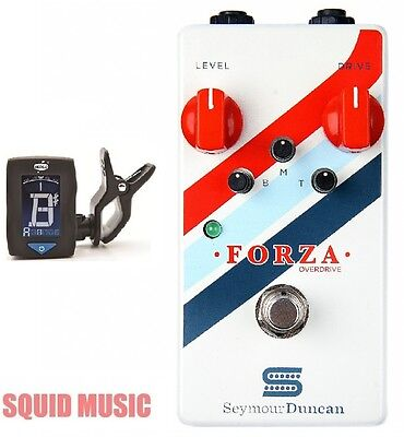 Seymour Duncan Forza Overdrive Guitar Effects Pedal  ( FREE DUNLOP TUNER )  • 137.24£