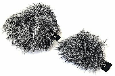 Movo WS-G10 Furry Microphone Windscreen Muff Fit For Shure Motiv MV88 IOS Mic • 17.96£
