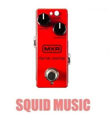 MXR Dyna Comp Mini Compressor Guitar Pedal M291 CA3080 Circuit (OPEN BOX) M-291 • 60.99£