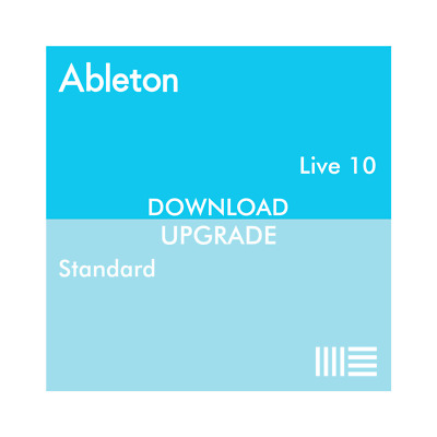 Ableton Live 10 Standard From Live Standard 1-9 (Download) DAW Software Mac PC • 159£