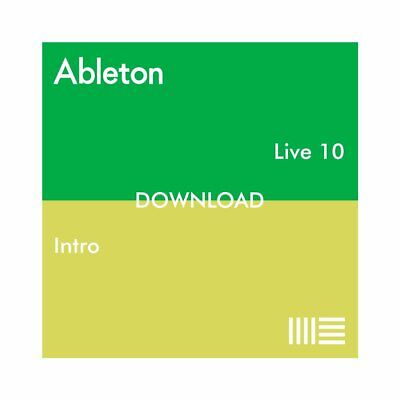 Ableton Live 10 Intro (Download) DAW Music Production Recording Software Mac PC • 69£