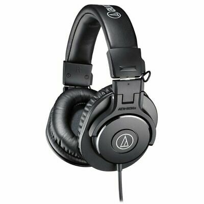 Audio Technica ATHM30X Closed Back Over Ear Headphones • 62£