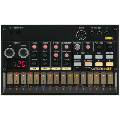 Korg Volca Beats Analog Rhythm Drum Machine Module - Incl 6 X AA Batteries • 151.98£