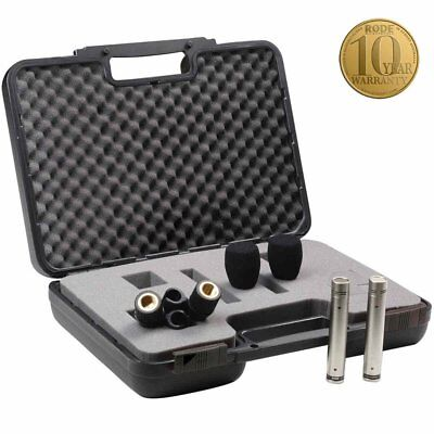 RODE NT5 PAIR: Compact 1/2  Cardioid Condenser Microphone_Matched Pair • 259.94£