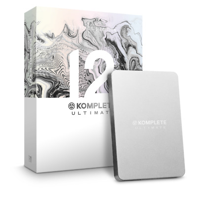 Native Instruments Komplete 12 Ultimate Collectors Edition Upgrade From KU8-KU12 • 249£