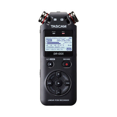 Tascam DR-05X Portable Handheld SD Card Audio Recorder USB Audio Interface DR05X • 95.50£