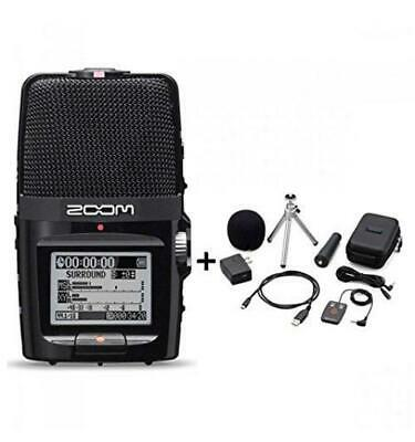 NEW ZOOM H2n Handy Portable Recorder PCM / Accessoary Kit APH-2n From JAPAN F/S • 175.82£