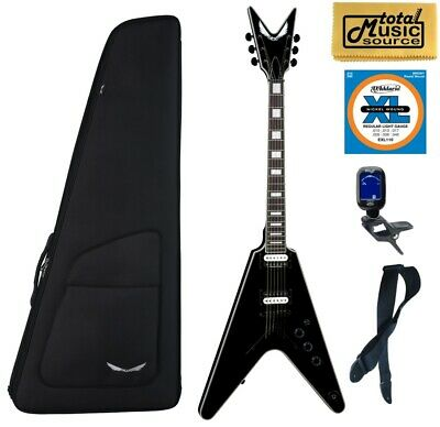 Dean V Select Electric Guitar, Classic Black, V SEL CBK, Bag Bundle • 677.95£
