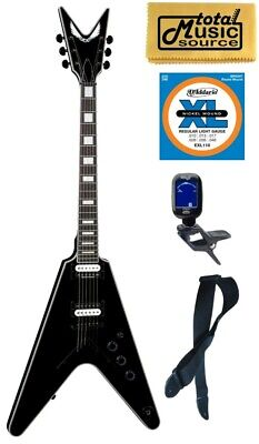 Dean V Select Electric Guitar, Classic Black, V SEL CBK, Bundle • 619.57£