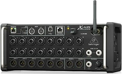 Behringer X AIR XR18 18-Channel, 12-Bus Digital Mixer For IPad/Android Tablets • 475.52£