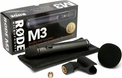 Rode M3 Multi-Powered Studio Condenser Microphone  • 90£