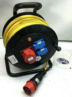 Gifas Electric Iec 61316 Cable Reel 502 30m W/ Plastic Coupling • 106.04£