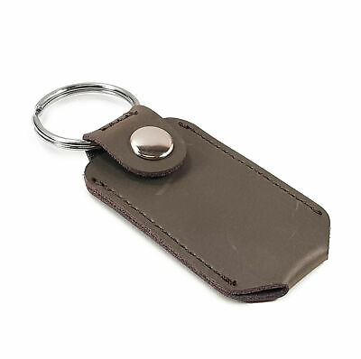 TUFF LUV Personalised Leather Pouch For Victorinox Classic Swiss Army Tool-Brown • 18.99£