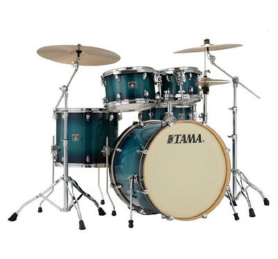 Tama CL52KRS-BAB Superstar Classic Drum Kit Shell Pack , Blue Lacquer Burst