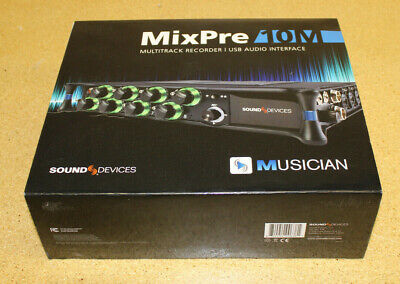 Sound Devices MixPre-10M Digital Audio Recorder NEW • 882.51£