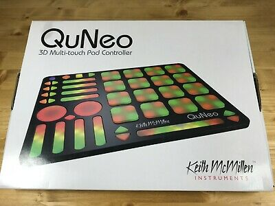 Keith McMillen Instruments Quneo 3D Multi-Touch Pad Controller - New In Box • 180.90£
