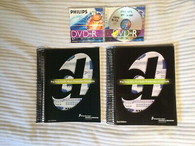 Pro Tools 210M And 201 Course Ware Books With CD Digidesign Avid • 12£