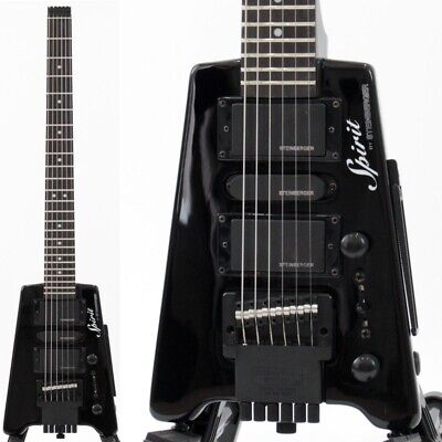 Spirit By Steinberger Gt Pro Deluxe Bk Electric Guitar • 555.34£