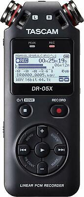 Tascam DR-05X Stereo Handheld Digital Recorder and USB Audio Interface (DR05X)