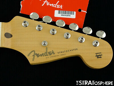 Fender Ed O'Brien Stratocaster Strat NECK & TUNERS, Maple Thick 10/56  V  Shape • 276.26£