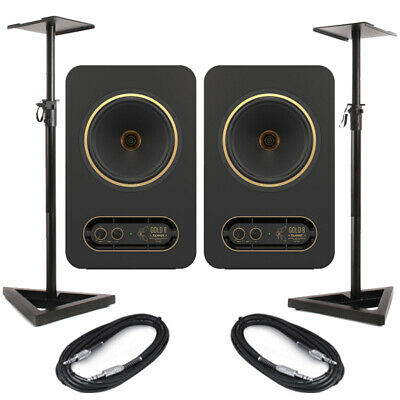 Tannoy Gold 8 (Pair) With Stands & Cables • 412£